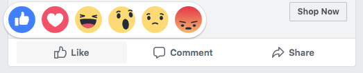 Facebook Reactions - how to use social media