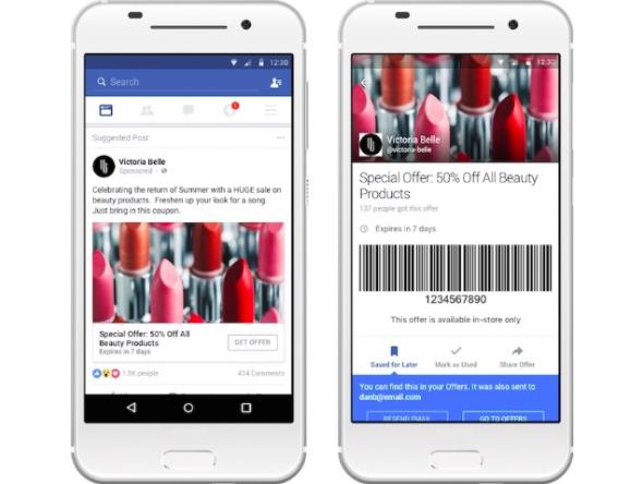 Geo-located facebook ads
