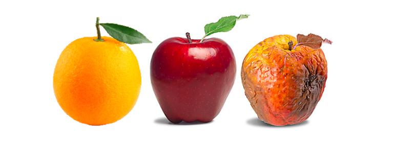 The Decoy Effect fruit