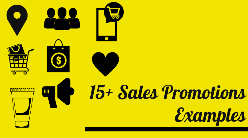 15+ sales promotion examples