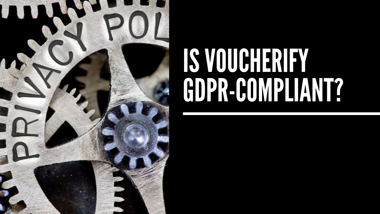 GDPR and CCPA compliance checklist - Voucherify update May 2018