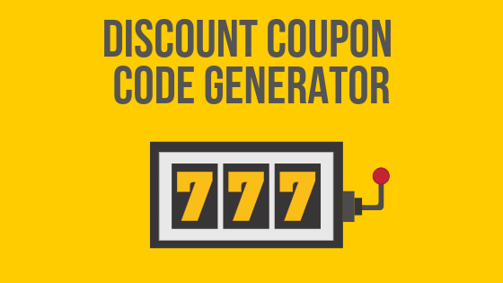 Discount Coupon Code Generator How To Use It In Your Marketing Promotional Campaign Voucherify Blog