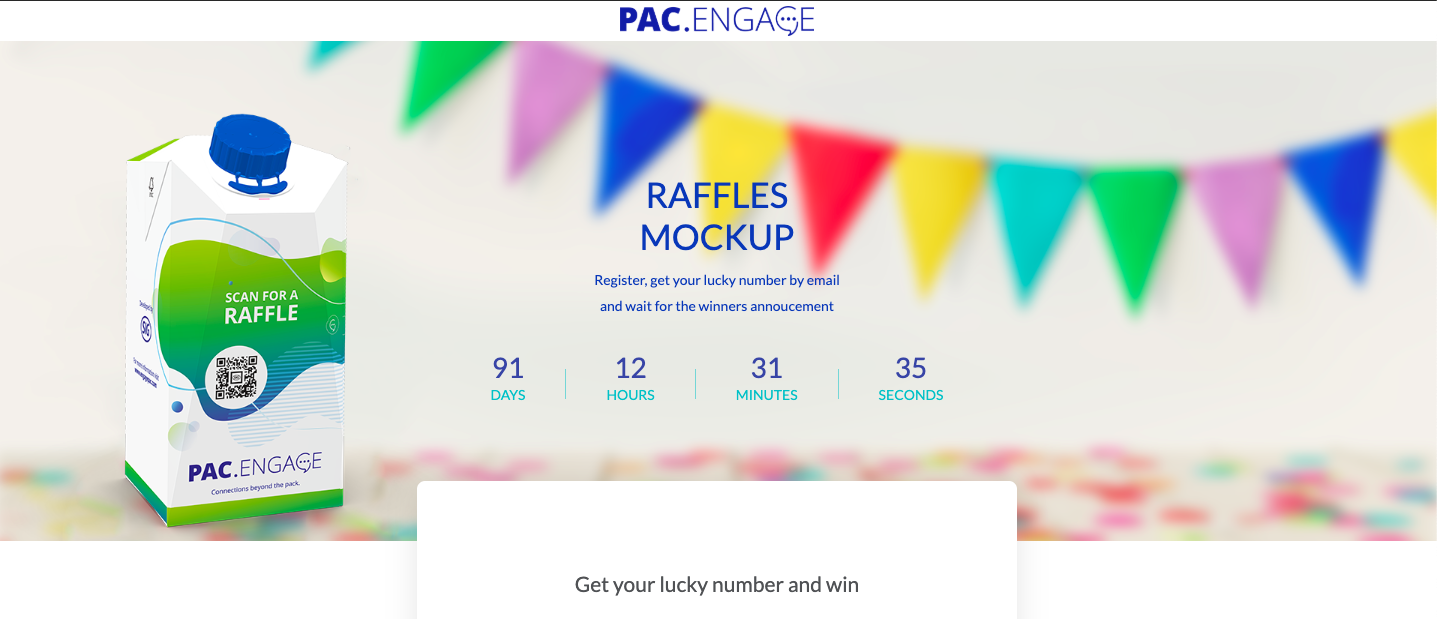 Pac.engage initiative - online giveaway that increases brand advocacy