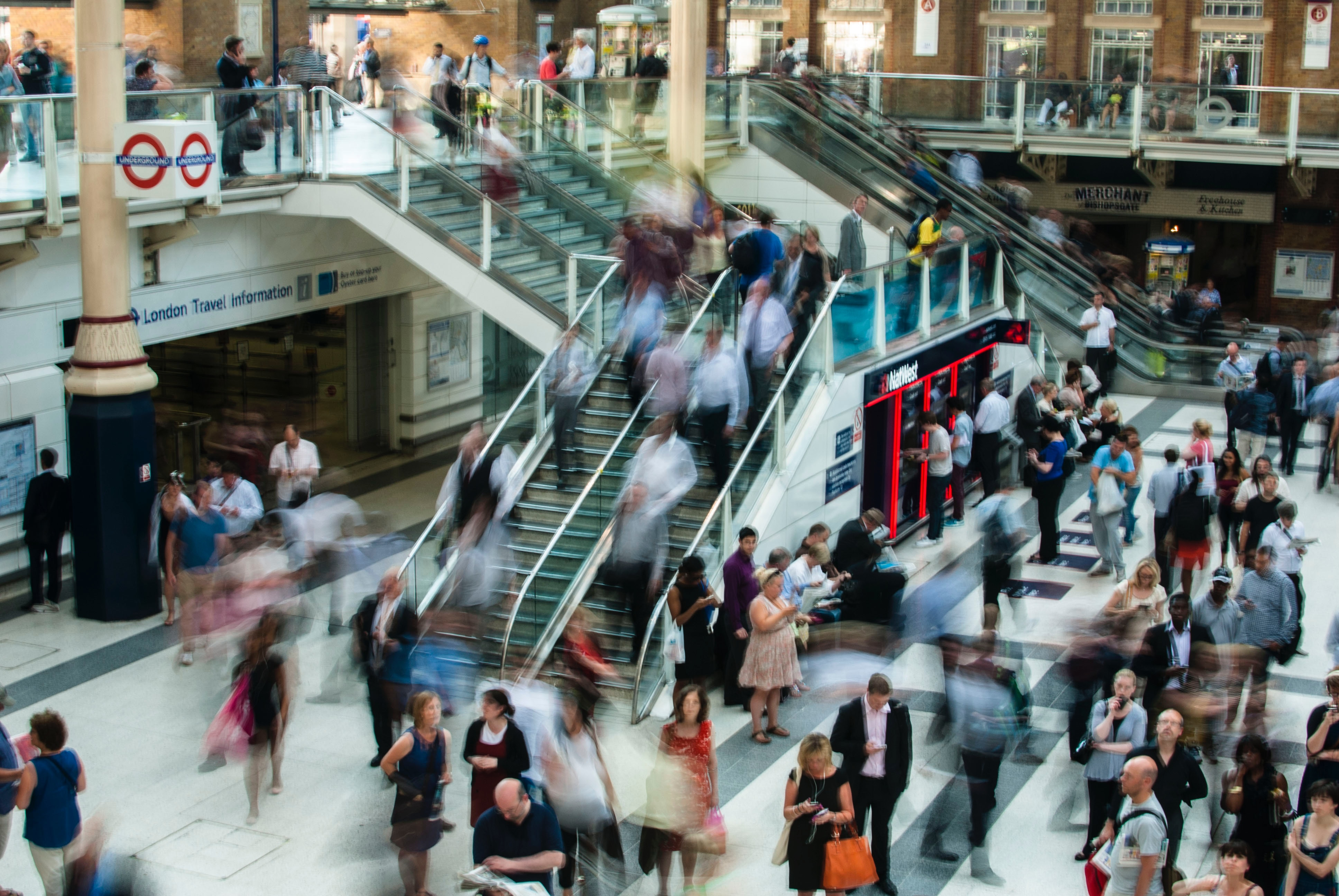 The Licensing Effect title image – crowd of people on a London station