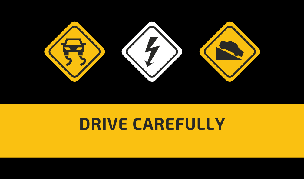 Drive carefully sign – the foot in the door effect in practice