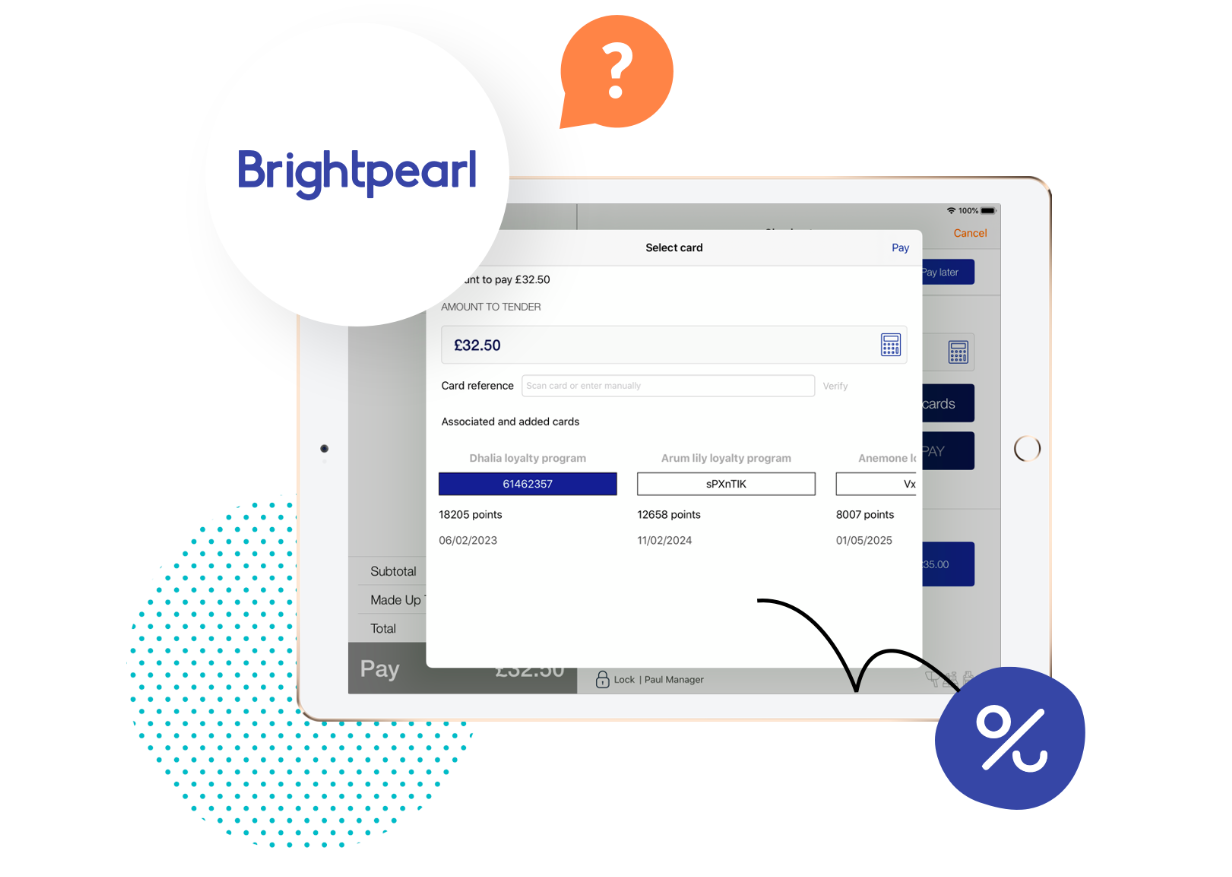 Brightpearl partnership