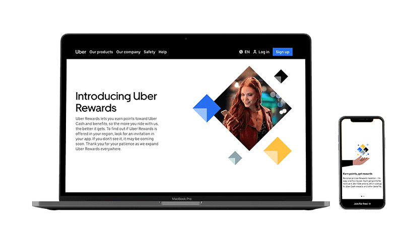 Uber Rewards Loyalty Program