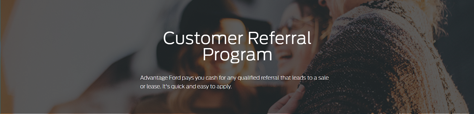 Ford referral program D2C