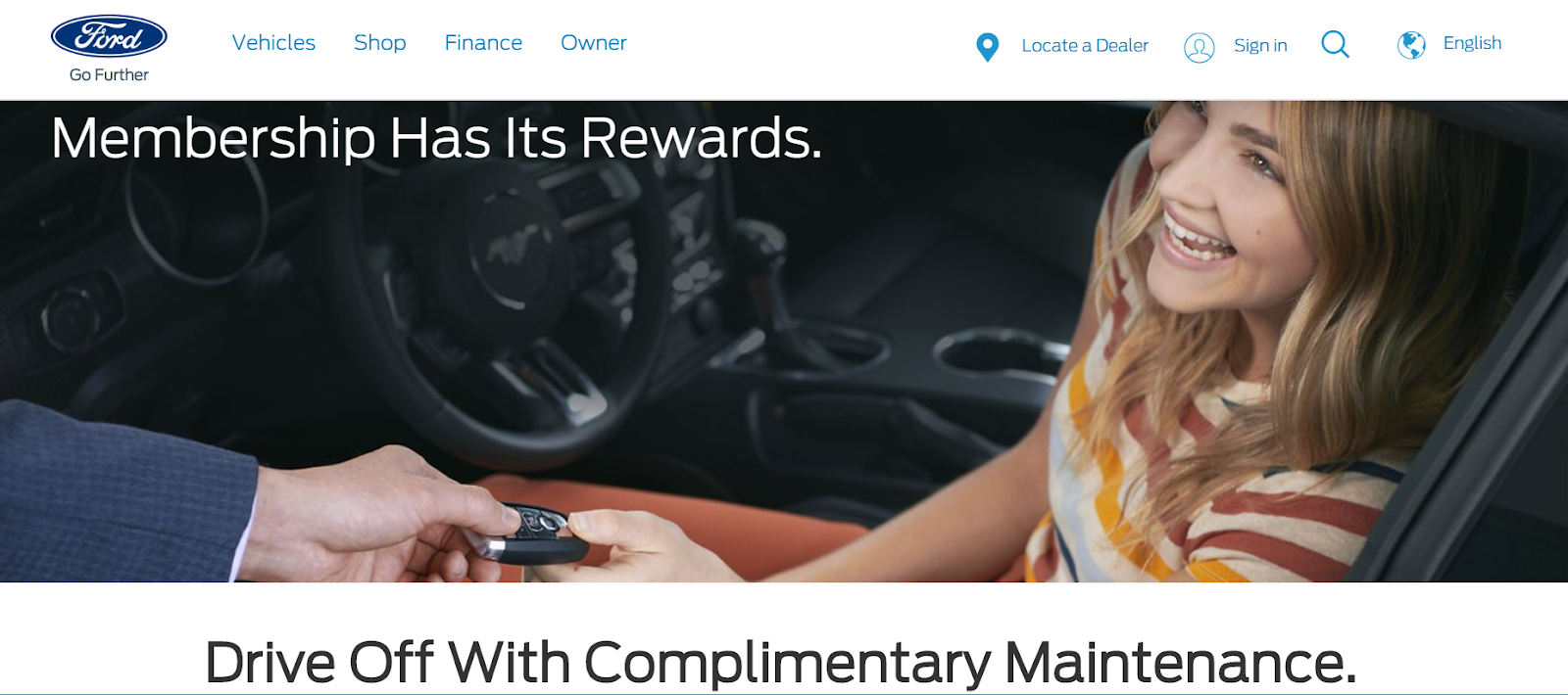Ford Loyalty Program
