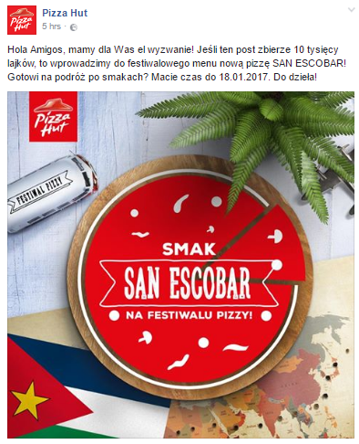 Pizza Hut Real time marketing