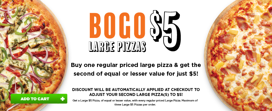Pizza Hut Bogo promotion