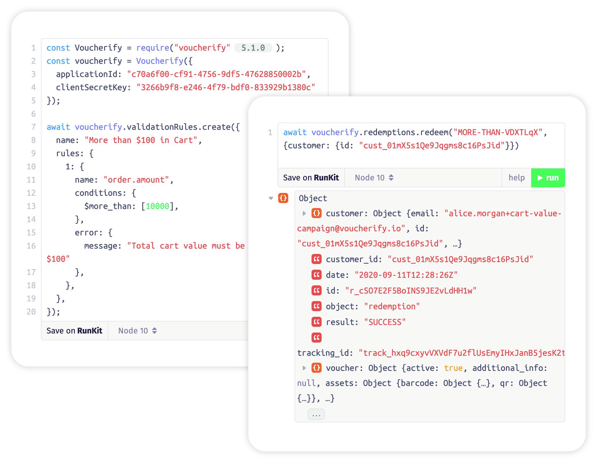 Coupon validation API