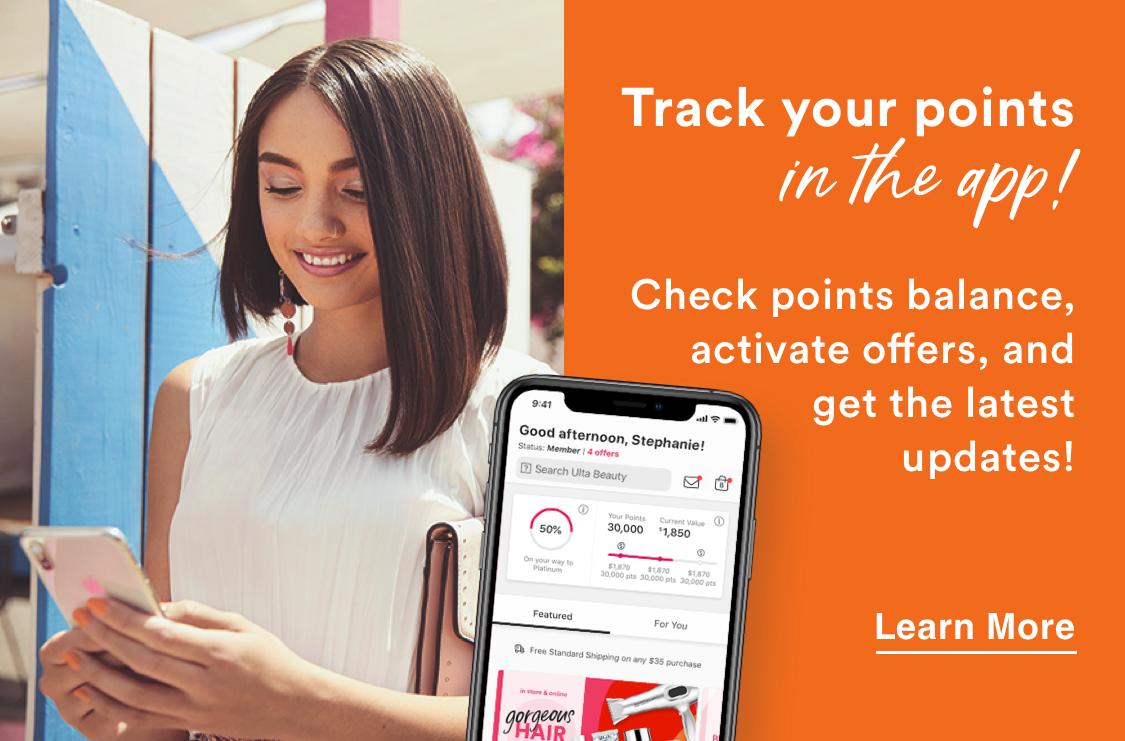 Ulta Loyalty Program Mobile App