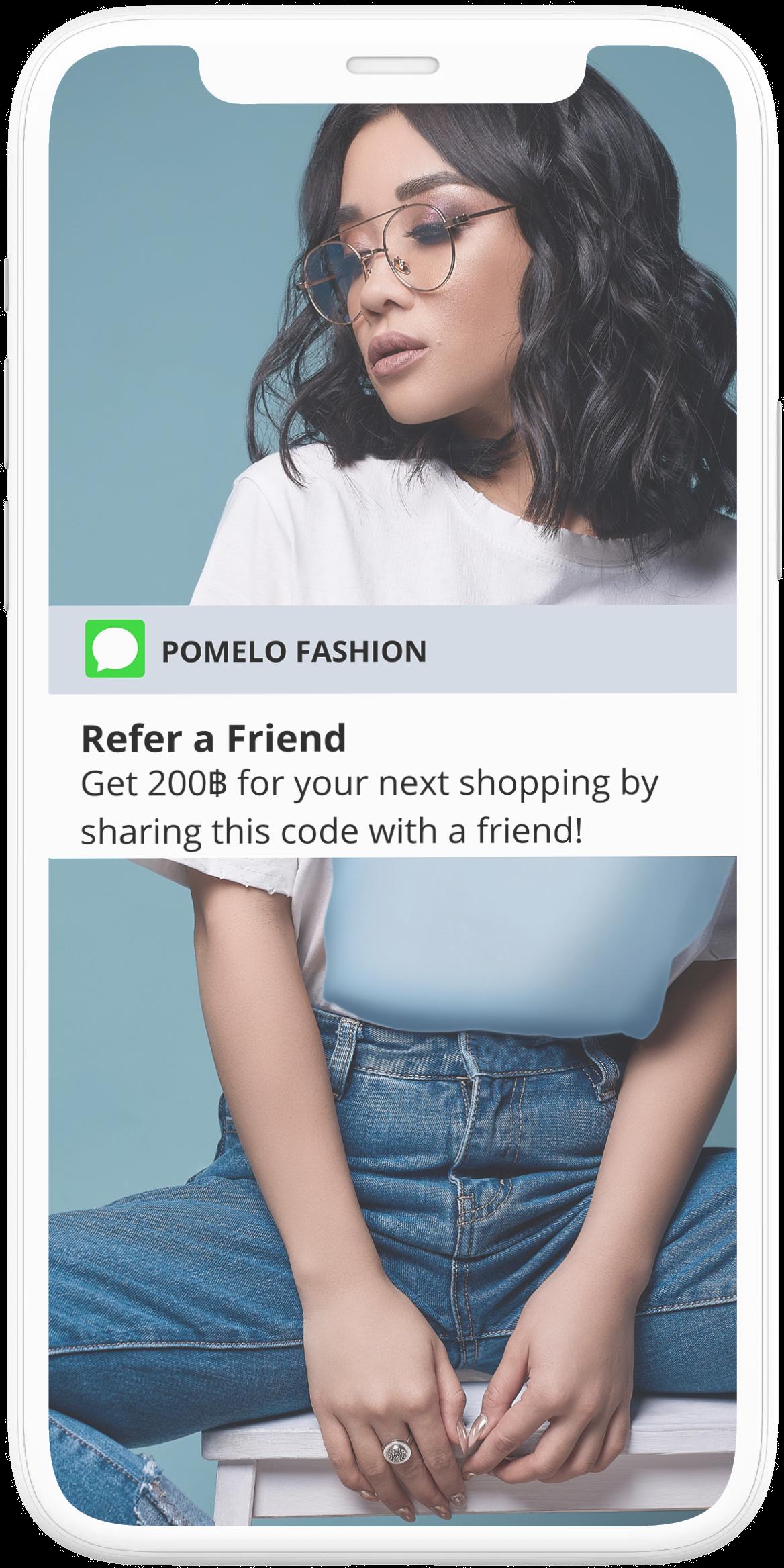 Pomelo Referral Program Customization and Branding