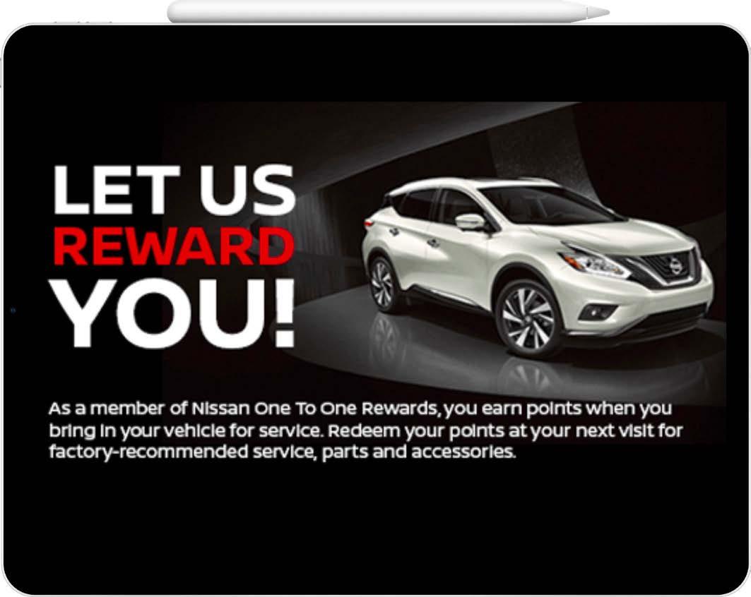 Nissan loyalty program 2