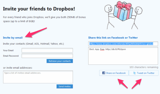dropbox-referrals-multiple-ways