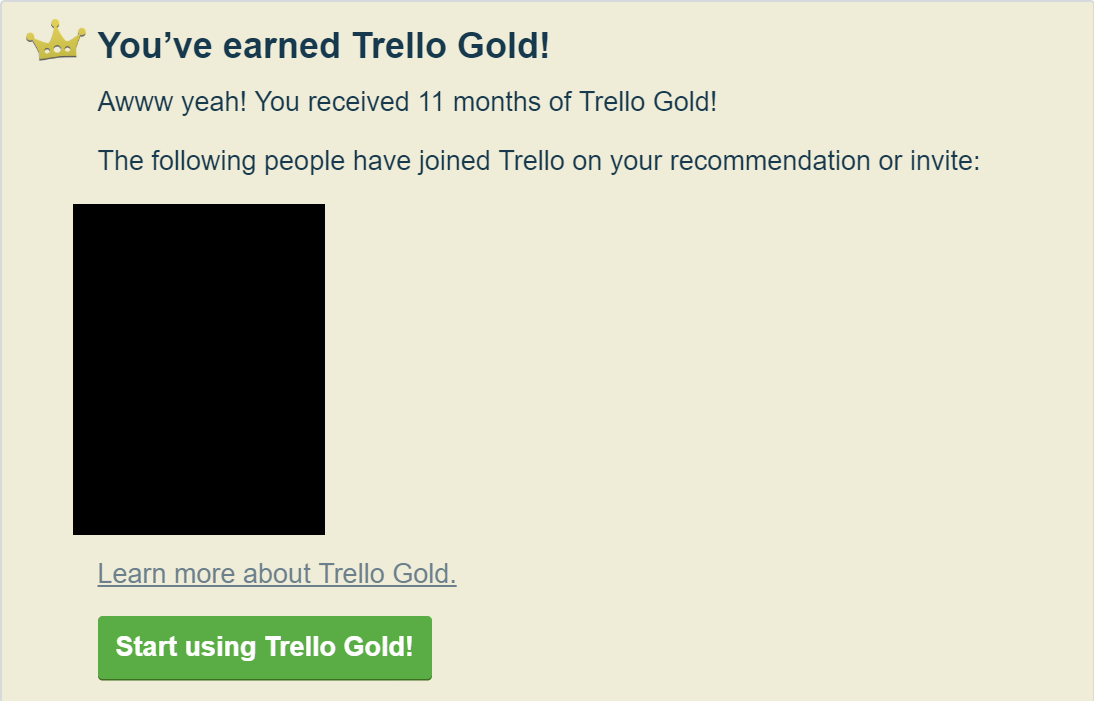 Trello Referral Program