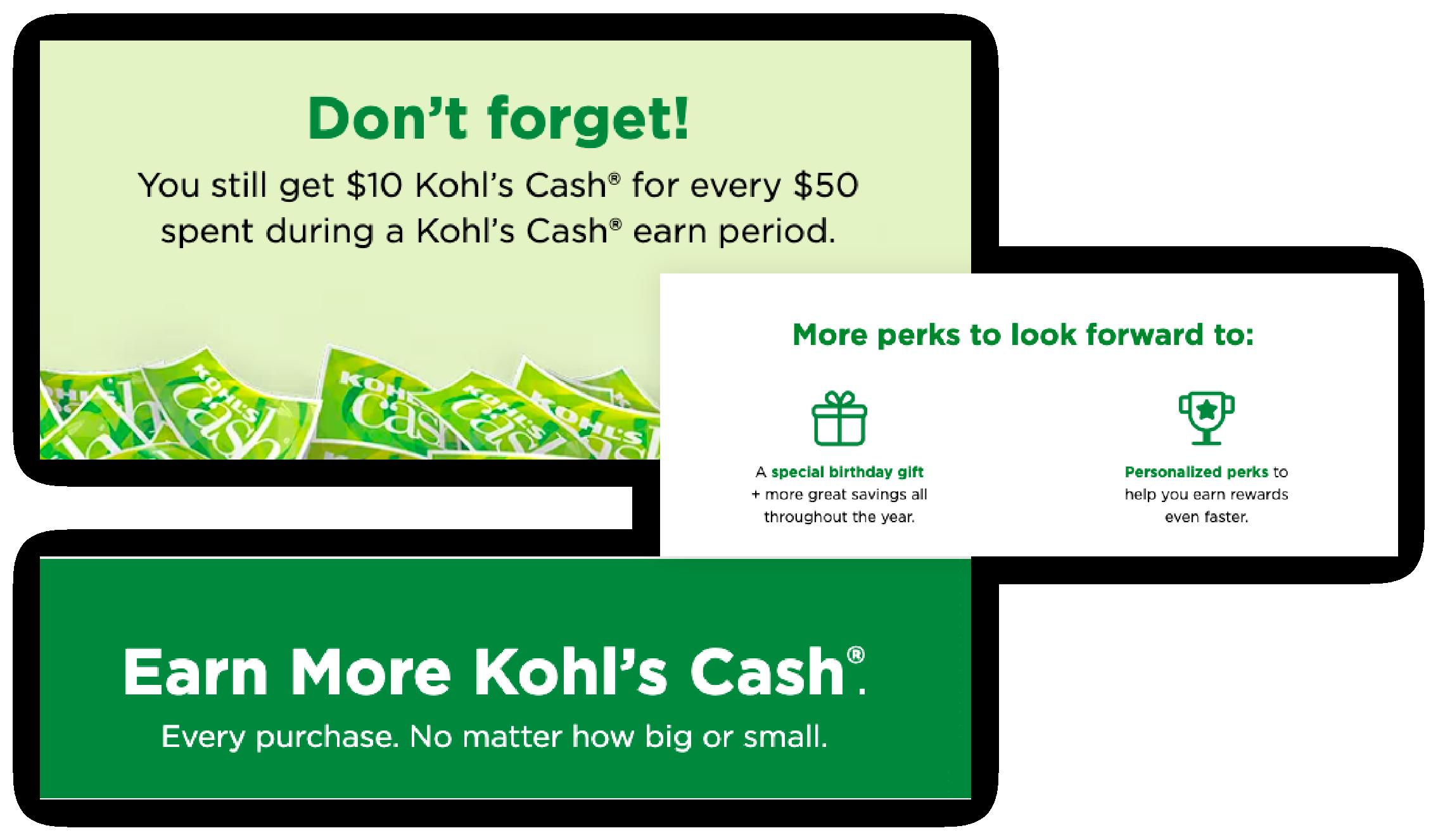 Kohl's Loyalty program