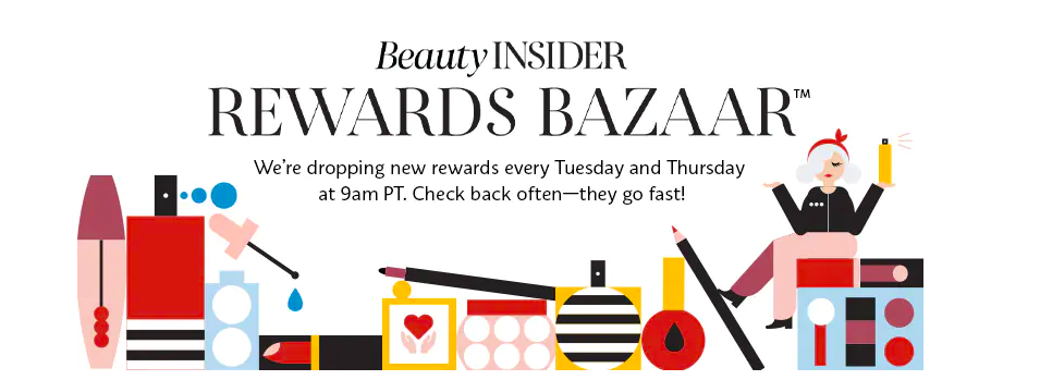 Sephora Beauty Insider Bazaar Graphic