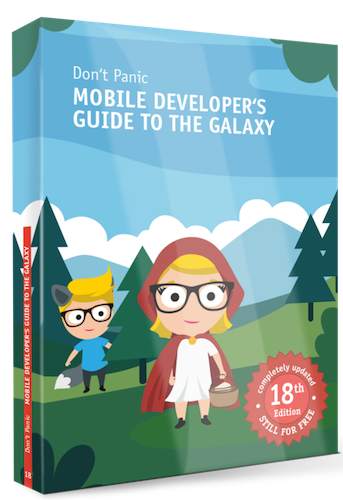 Mobile Developer's Guide to the Galaxy cover