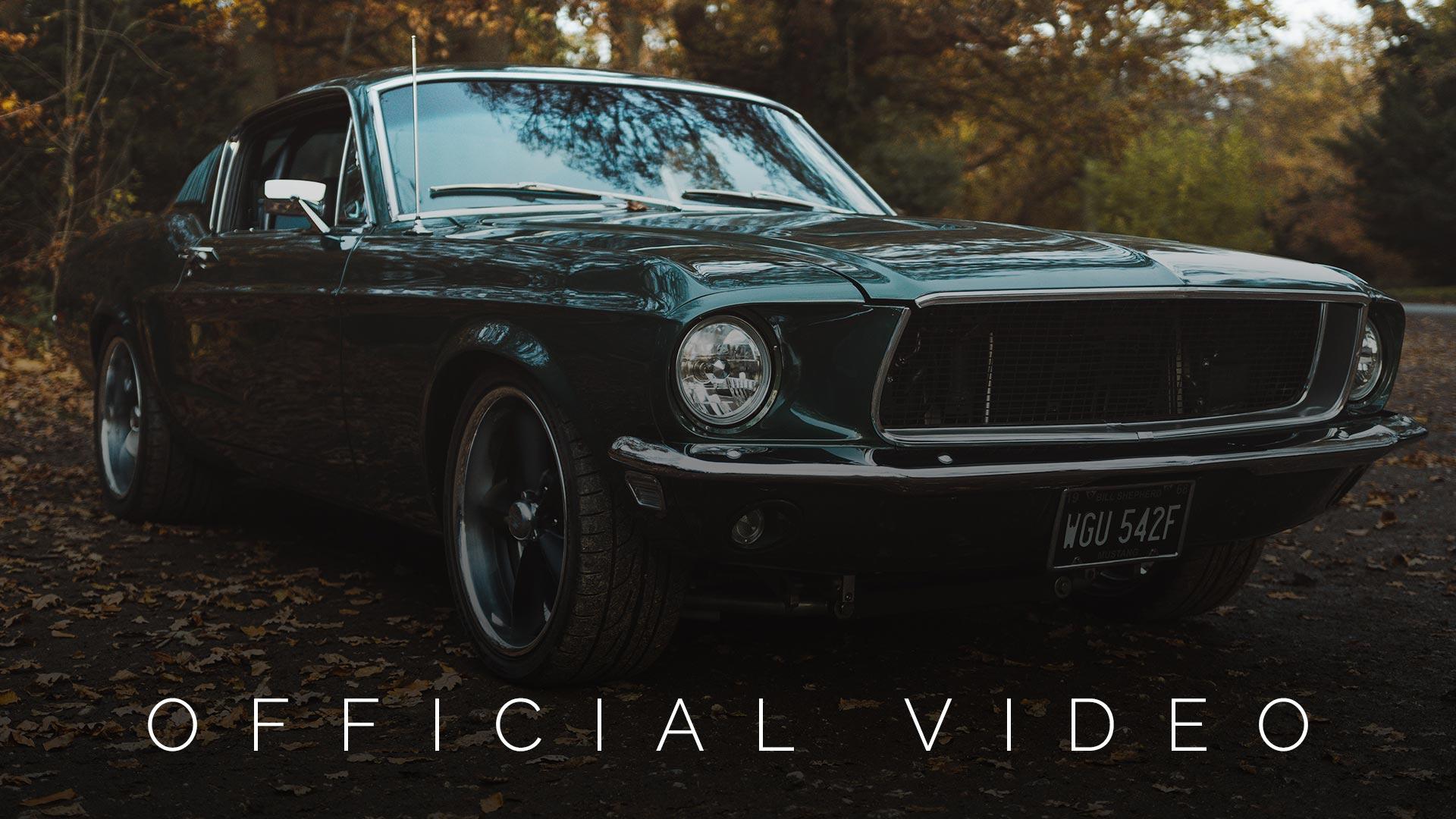 New Classic Mustang Bullitt Car