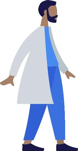 Medico con barba