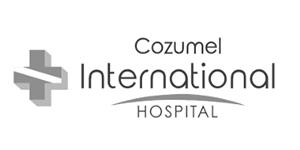 Cozumel international hospital logo