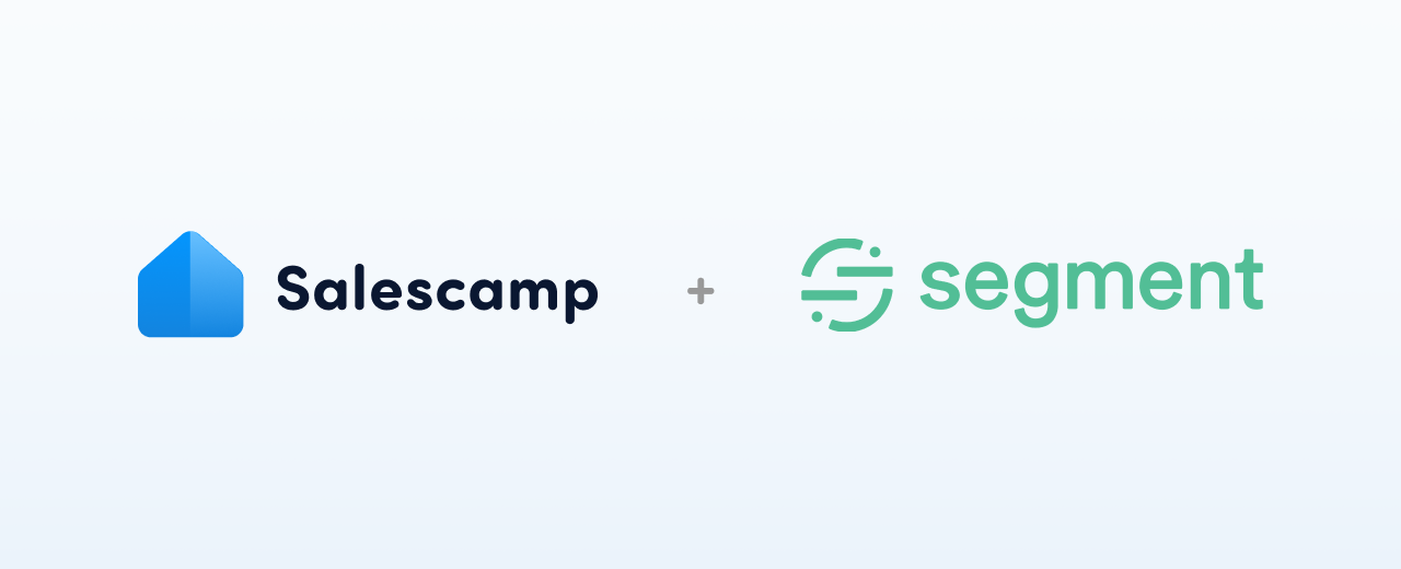 Manage any data with Segment and Salescamp's integration