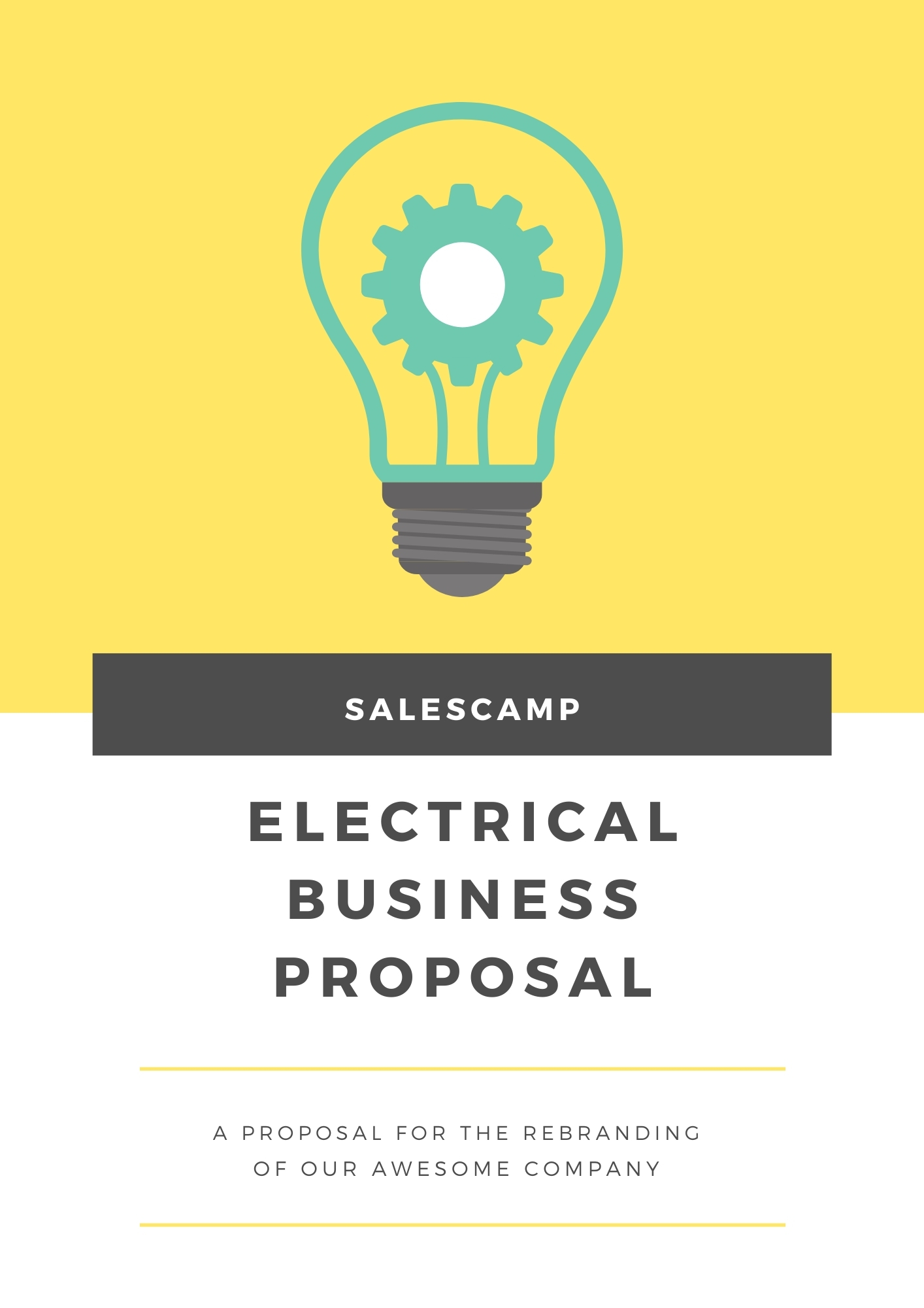 Electrical Business Proposal