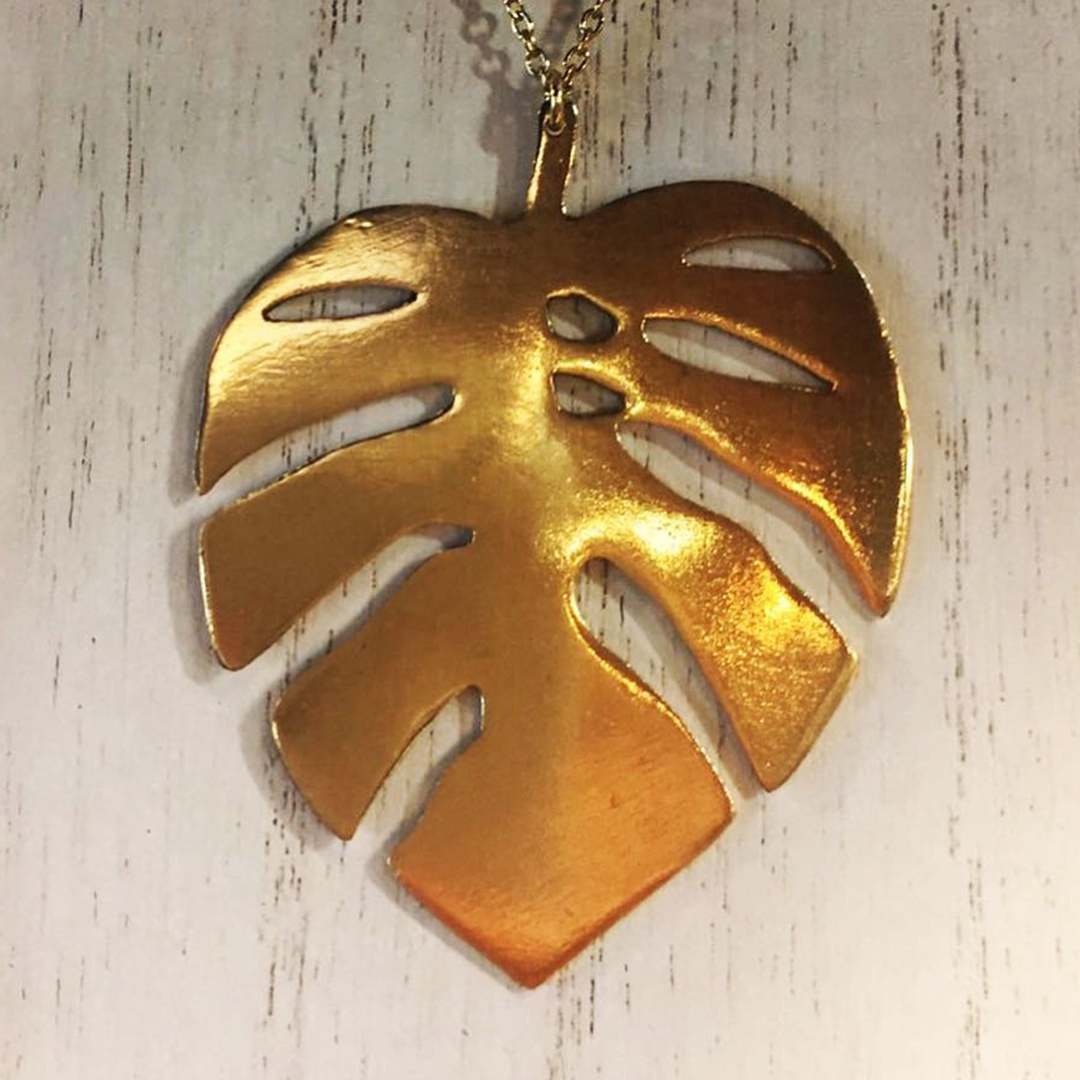 Pressed Necklace 1