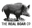 The Real Boar logo