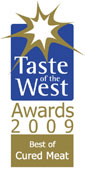 2009 Taste of the West Award for Best Cured Meat