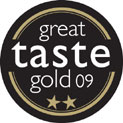 2009 Great Taste Gold 2 Star Award for Wild Boar and Venison Salami with Red Wine