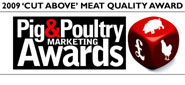 2009 Cut Above Meat Quality Award for Wild Boar Salami