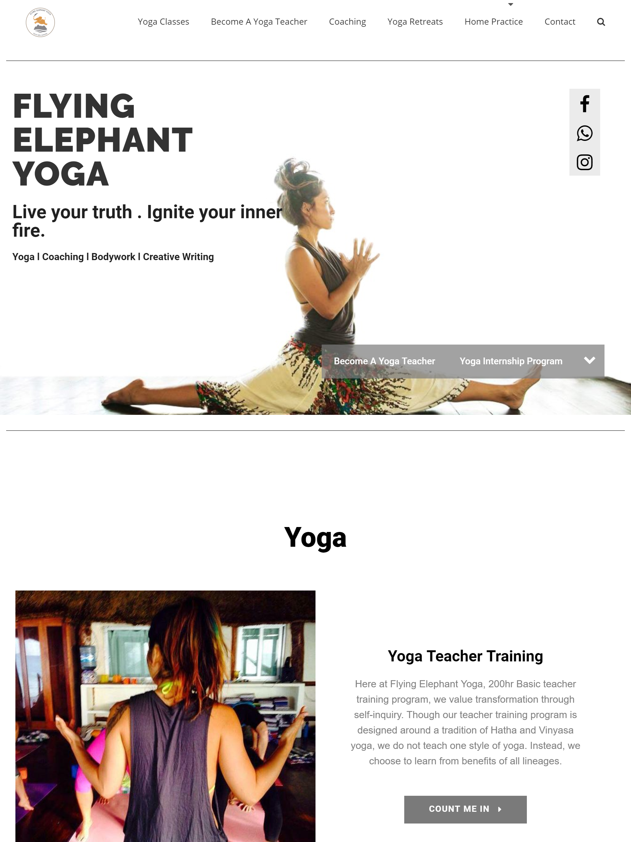 Flying Elephant Yoga