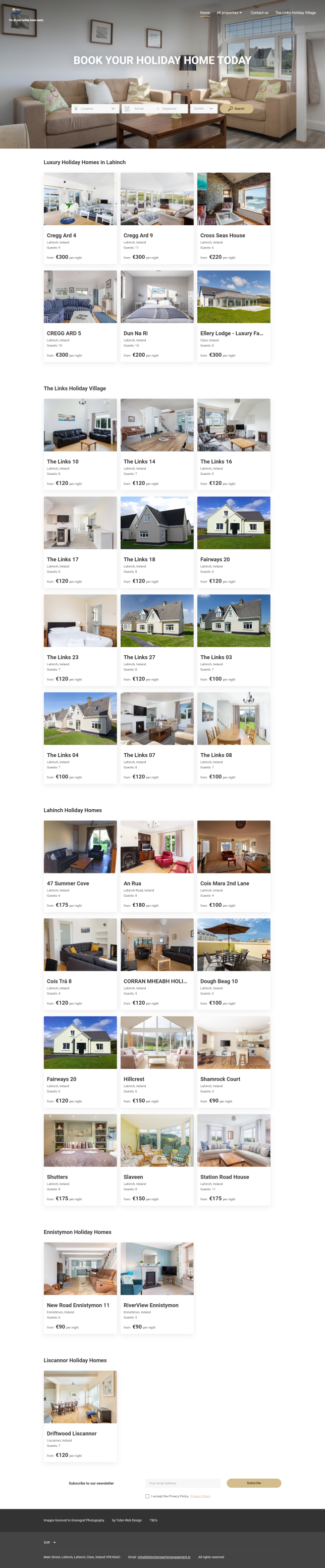Lahinch Property Management