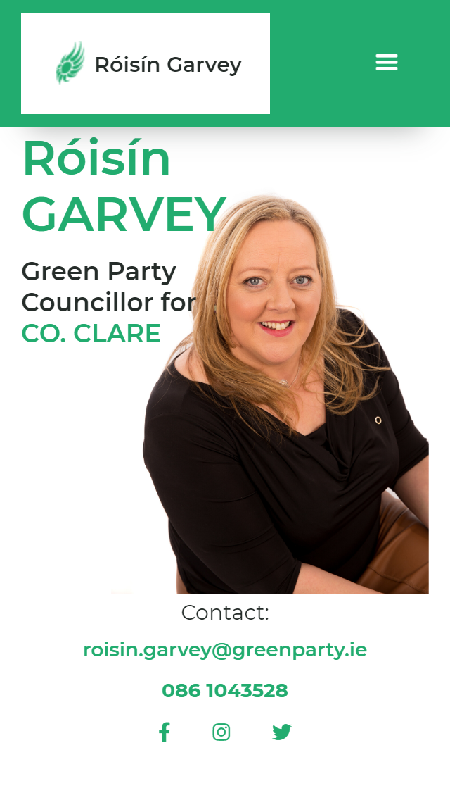 Róisín Garvey Green Party