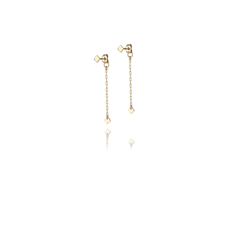 Micro Quad Droplet Earrings