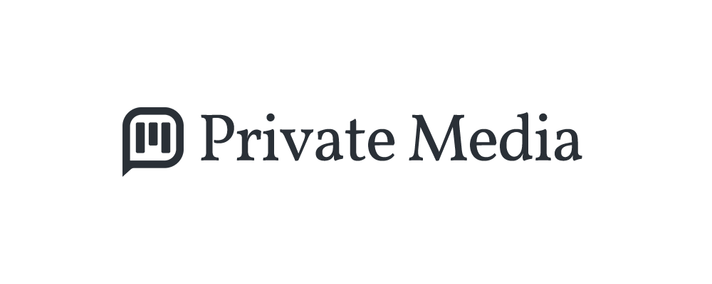 Private Media logo