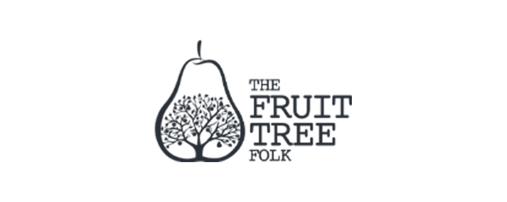 Fruit tree folk logo