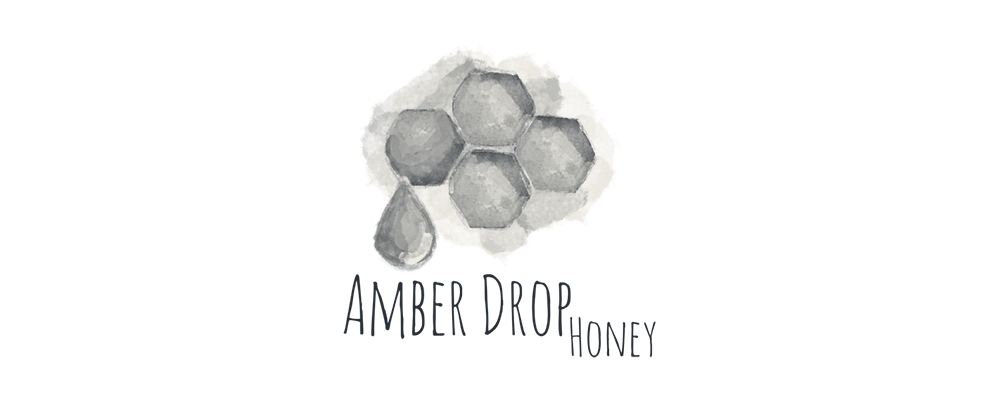 Amber Drop Honey logo