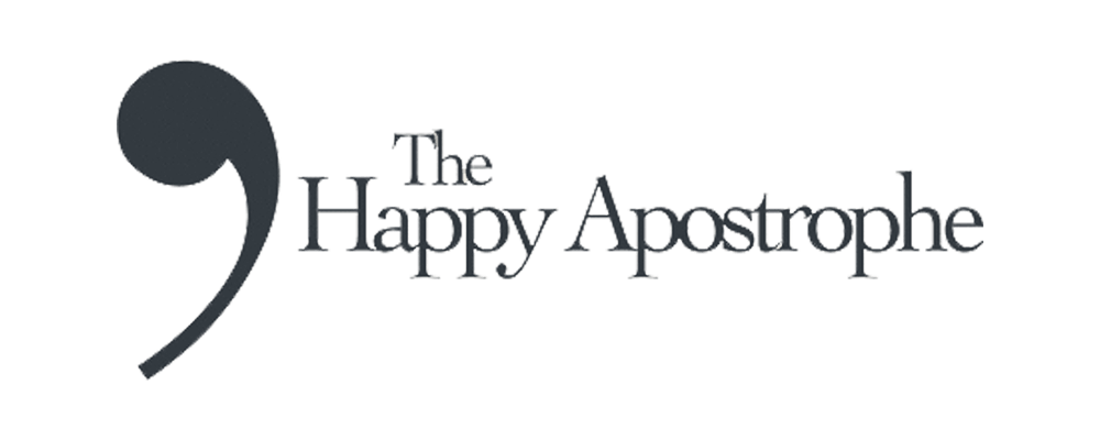 The Happy Apostrophe logo