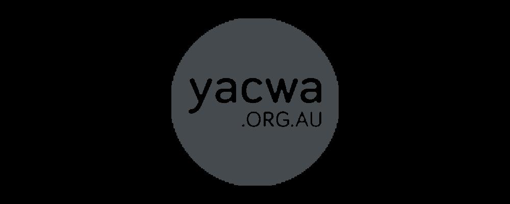 Youth Affairs Council of Western Australia (YACWA) logo