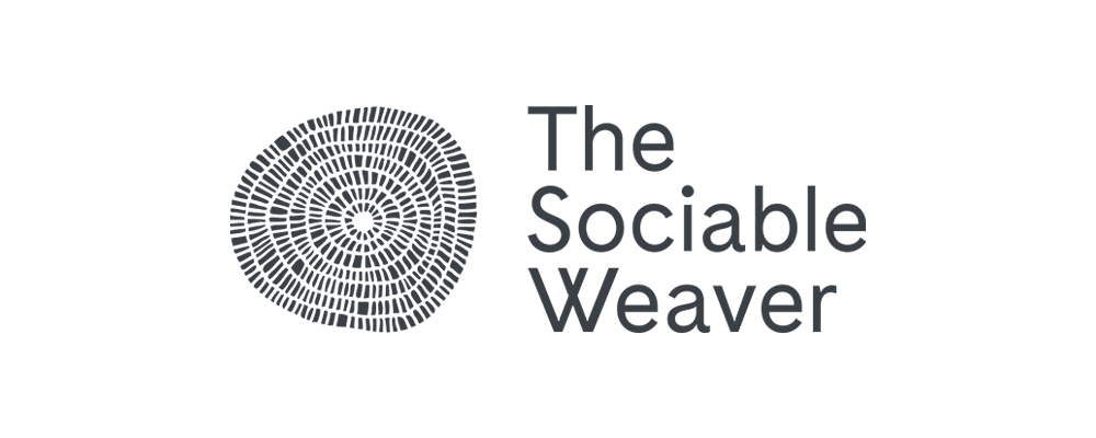 The Sociable weaver logo