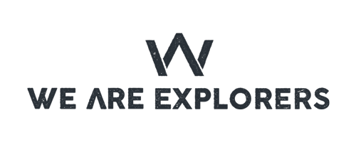 We Are Explorers logo