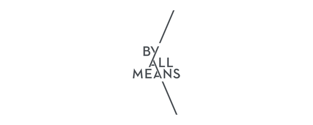 By All Means logo