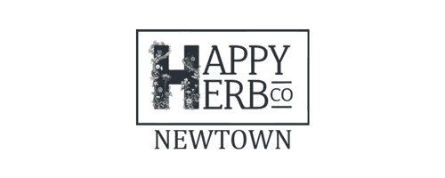 The Happy Herb Shop Newtown logo