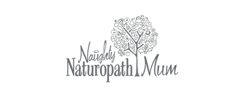 Naughty Naturopath Mum logo