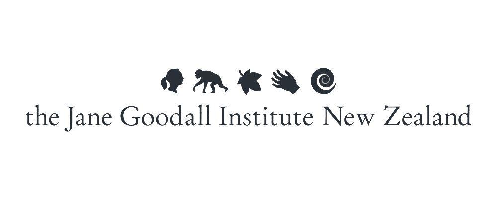 The Jane Goodall Institute New Zealand logo
