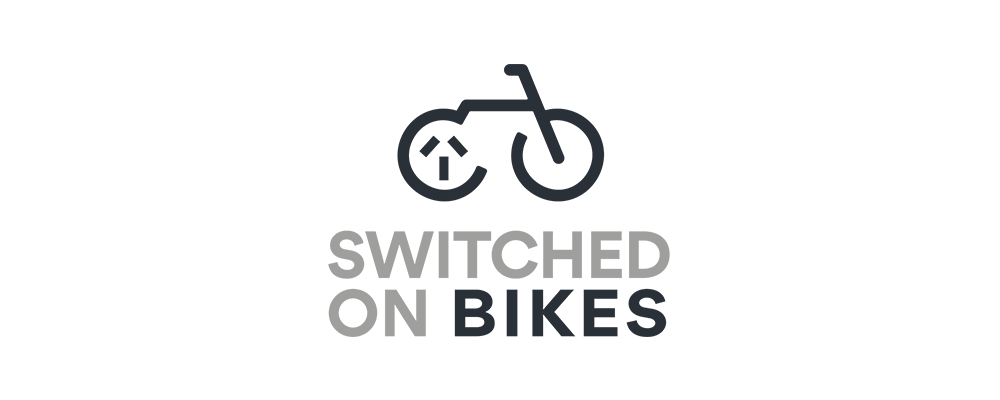 switched on bikes logo